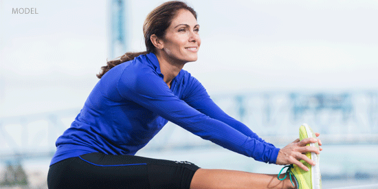 Dr. Mustoe, a breast augmentation surgeon in Chicago, shares a timeline for recovery workouts.