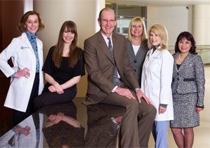 Dr. Mustoe and his staff